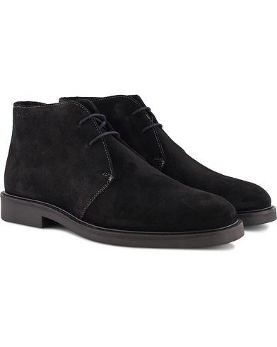 Gant Spencer Chukka Boot Black Suede i gruppen Skor / Kängor / Chukka boots hos Care of Carl (13126411r)