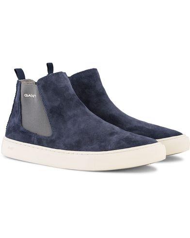 Gant Bryant High Sneaker Marine Suede i gruppen Skor / Sneakers / Höga sneakers hos Care of Carl (13127111r)