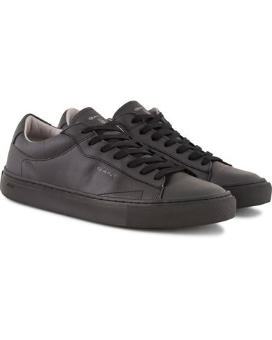 Gant Bryant Sneaker Black Leather i gruppen Sko / Sneakers / Sneakers med lavt skaft hos Care of Carl (13127211r)