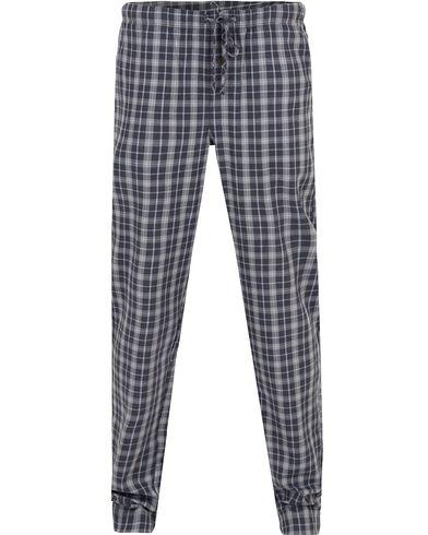 Hanro Paolo Pyjama Pants Infinity Check i gruppen Undertøy / Pyjamaser / Pyjamasbukser hos Care of Carl (13127711r)