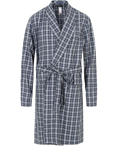 Hanro Paolo Robe Infinity Check i gruppen Undert�y / Morgenk�per hos Care of Carl (13128011r)