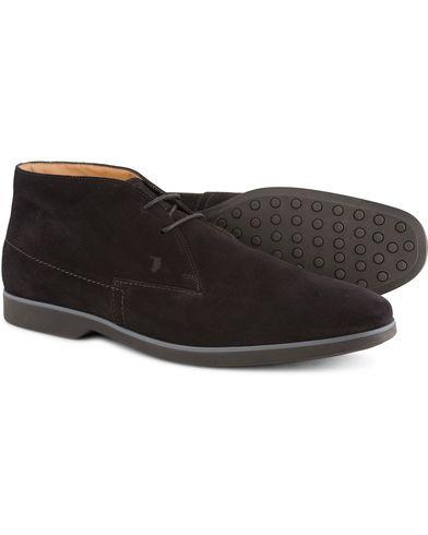 Tod's Polacco Nuovo Chukka Black Suede i gruppen Sko / St�vler / Chukka boots hos Care of Carl (13128211r)