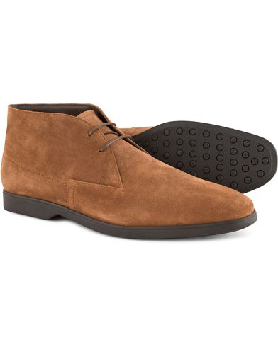 Tod's Polacco Nuovo Chukka Light Brown Suede i gruppen Sko / Støvler / Chukka boots hos Care of Carl (13128311r)