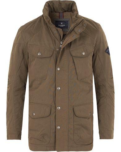Hackett New Velospeed Jacket Taupe i gruppen Design A / Jakker / Vatterte jakker hos Care of Carl (13131711r)
