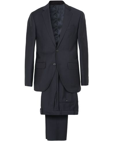Hackett Mayfair Wool Suit Midnight i gruppen Kläder / Kostymer / Tvådelade kostymer hos Care of Carl (13132411r)