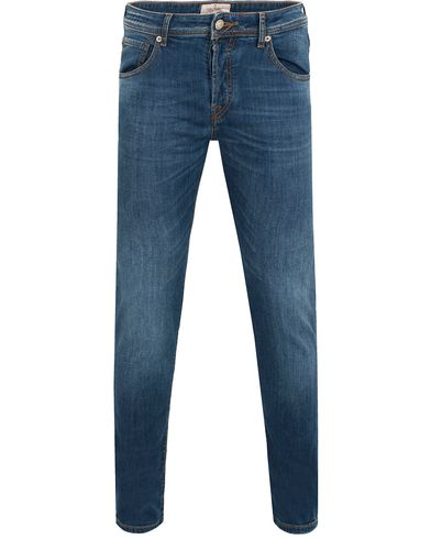 Hackett Newburg Slim Fit Jeans Light Wash i gruppen Jeans / Smala jeans hos Care of Carl (13134811r)