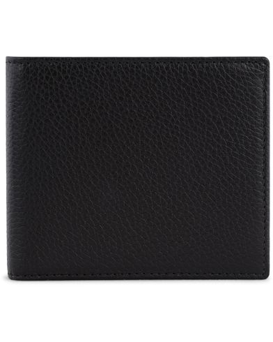 Hackett Leather Billfold Black  i gruppen Assesoarer / Lommebøker / Vanlige lommebøker hos Care of Carl (13135110)