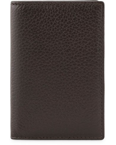 Hackett Leather Credit Card Case Brown  i gruppen Assesoarer / Lommebøker / Vanlige lommebøker hos Care of Carl (13135210)