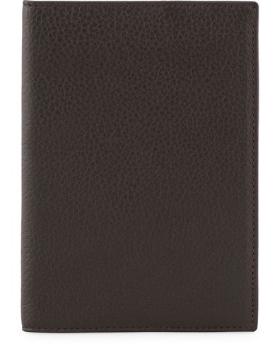 Hackett Leather Passport Holder Brown  i gruppen Accessoarer / Pl�nb�cker hos Care of Carl (13135410)