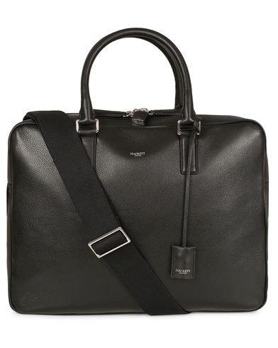 Hackett Pebble Document Briefcase Black  i gruppen Väskor / Portföljer hos Care of Carl (13135710)