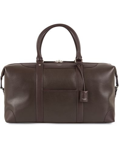 Hackett The Pebble Boston Holdall Brown  i gruppen Assesoarer / Vesker / Weekendbager hos Care of Carl (13135810)