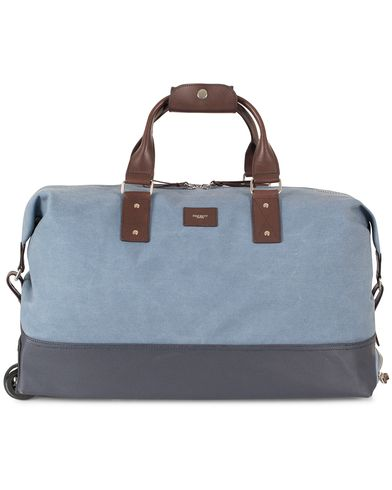 Hackett Jackson Soft Trolley Blue  i gruppen Accessoarer / Väskor / Weekendbags hos Care of Carl (13135910)