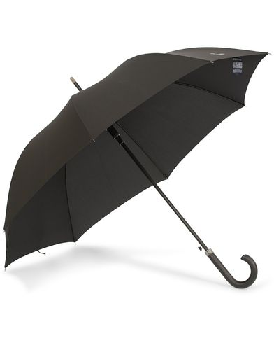 Hackett Walking Umbrella Black  i gruppen Accessoarer / Paraplyn hos Care of Carl (13136110)