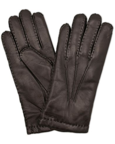 Hestra Edward Wool Liner Glove Black i gruppen Assesoarer / Hansker hos Care of Carl (13136811r)