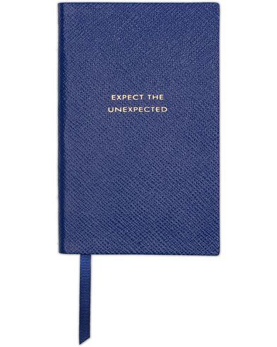 Smythson Panama Notebook Cobalt