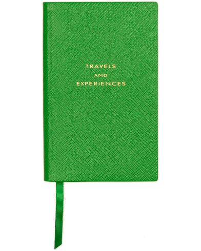 Smythson Panama Notebook Emerald