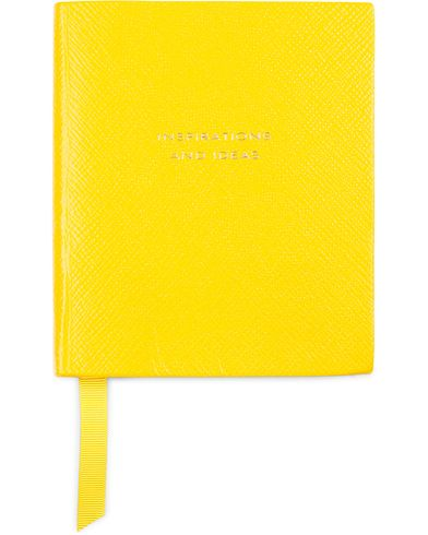 Smythson Panama Notebook Yellow