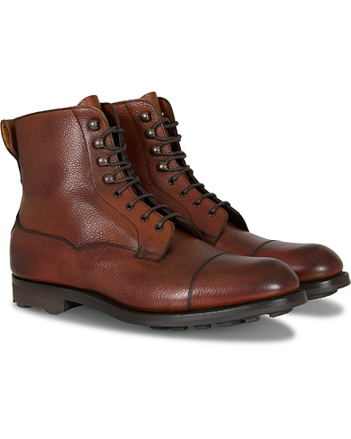 Edward Green Galway Ridgeway Boot Rosewood Country Calf i gruppen Skor / Kängor / Snörkängor hos Care of Carl (13142111r)