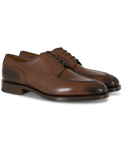 Edward Green Dover Split Toe Dark Oak Calf i gruppen Sko / Derbys hos Care of Carl (13142211r)