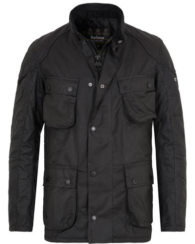 Barbour International Crank Wax Jacket Black i gruppen Jackor / Vaxade Jackor hos Care of Carl (13144911r)