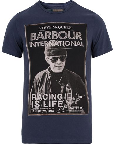 Barbour International Apex Tee New Navy i gruppen T-Shirts / Kortärmade t-shirts hos Care of Carl (13145911r)