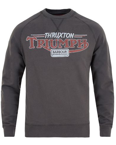 Barbour International Triumph Absorber Sweater Charcoal i gruppen Gensere / Sweatshirts hos Care of Carl (13146611r)