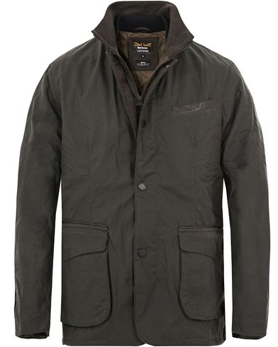 Barbour for Land Rover Observe Wax Jacket Sage i gruppen Jackor / Vaxade jackor hos Care of Carl (13147011r)