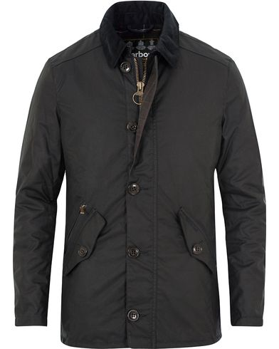 Barbour Lifestyle Carrbridge Wax Jacket Navy i gruppen Klær / Jakker / Voksede jakker hos Care of Carl (13147611r)