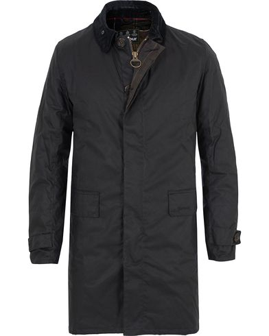 Barbour Lifestyle Nairn Wax Coat Navy i gruppen Jakker / Voksede Jakker hos Care of Carl (13147711r)