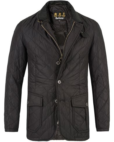 Barbour Lifestyle Quilted Lutz Jacket Black i gruppen Jakker / Quiltede jakker hos Care of Carl (13147811r)
