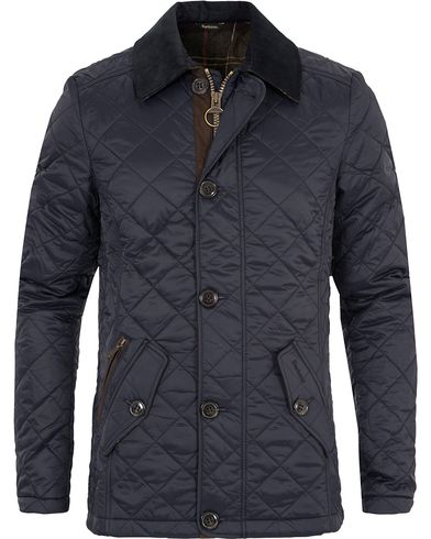 Barbour Lifestyle Fortnum Quilted Jacket Navy i gruppen Jackor / Quiltade jackor hos Care of Carl (13148011r)