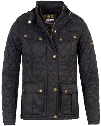Barbour International Women Caster Quilt Jacket Black i gruppen Assesoarer hos Care of Carl (13150011r)