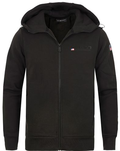 Sail Racing International Zip Hood Carbon i gruppen Tröjor / Huvtröjor hos Care of Carl (13151711r)