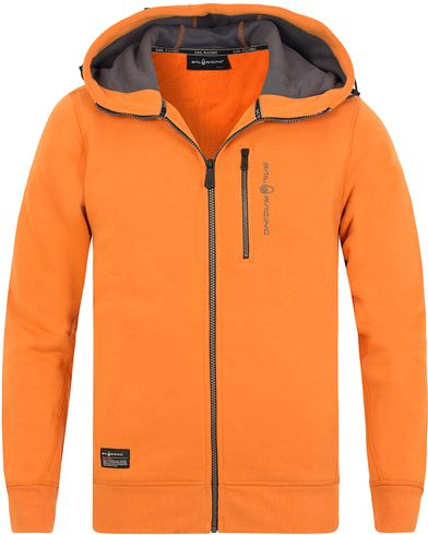 Sail Racing SR Zip Hood Orange i gruppen Kläder / Tröjor / Huvtröjor hos Care of Carl (13151911r)