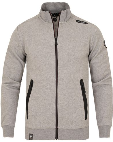Sail Racing Race Zip Jacket Grey i gruppen Klær / Gensere / Zip-gensere hos Care of Carl (13152711r)