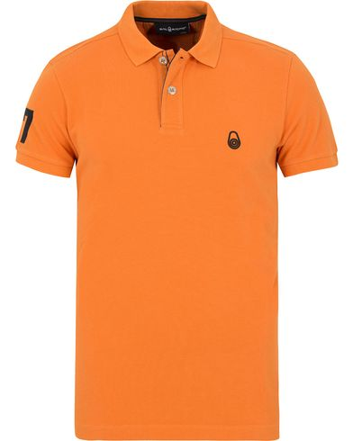 Sail Racing Grinder Polo Orange i gruppen Pik�er / Kortermet Pik� hos Care of Carl (13153011r)