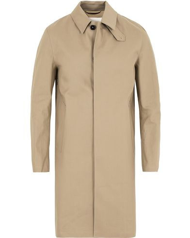 Mackintosh Cotton Coat Fawn Beige i gruppen Klær / Jakker / Frakker hos Care of Carl (13153311r)