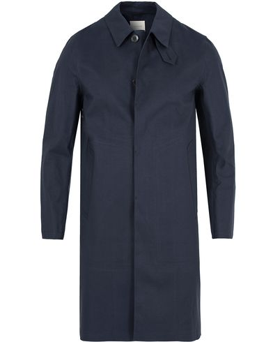 Mackintosh Cotton Coat Navy i gruppen Jackor / Rockar hos Care of Carl (13153411r)