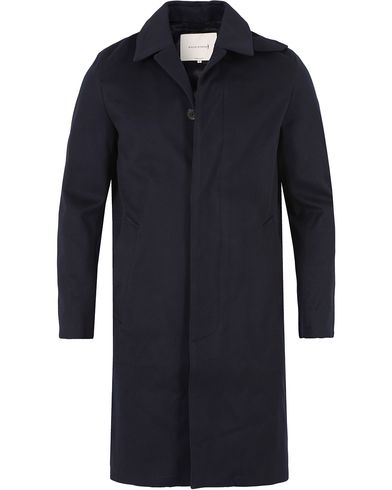 Mackintosh Loro Piana Wool Coat Navy i gruppen Jakker / Vinterjakker hos Care of Carl (13153511r)