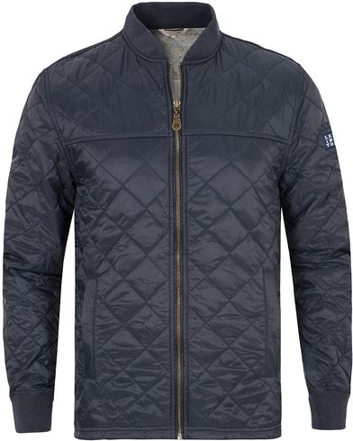 Lexington Tyler Quilted Jacket Deepest Blue i gruppen Jakker / Quiltede jakker hos Care of Carl (13153811r)
