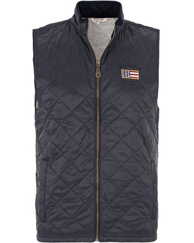 Lexington Greogory Quilted Vest Deepest Blue i gruppen Jakker / Yttervester hos Care of Carl (13154011r)