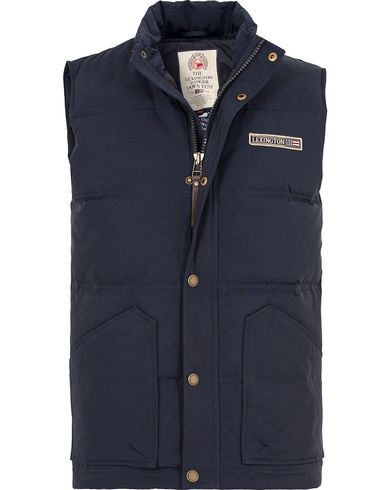 Lexington Victor Down Vest Deepest Blue i gruppen Kläder / Jackor / Yttervästar hos Care of Carl (13154111r)