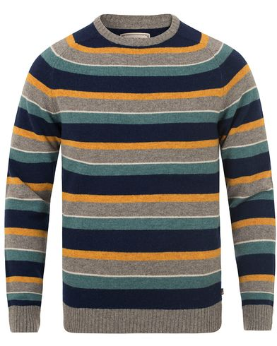 Lexington Tristan Striped Sweater Multi  i gruppen Klær / Gensere / Strikkede gensere hos Care of Carl (13154811r)