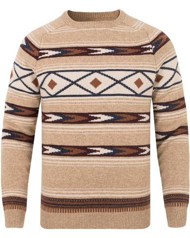 Lexington Tristan Ikat Sweater Ikat Print i gruppen Gensere / Strikkede gensere hos Care of Carl (13154911r)