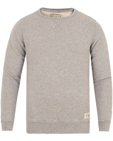 Lexington Ross Sweatshirt Heather Grey Melange i gruppen Gensere / Sweatshirts hos Care of Carl (13155511r)