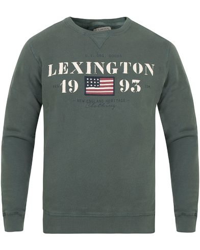 Lexington Lucas Sweatshirt Balsam Green i gruppen Tröjor / Sweatshirts hos Care of Carl (13155811r)