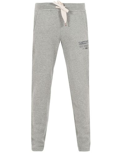 Lexington Brandon Jersey Pants Heather Grey Melange i gruppen Byxor / Mjukisbyxor hos Care of Carl (13157011r)