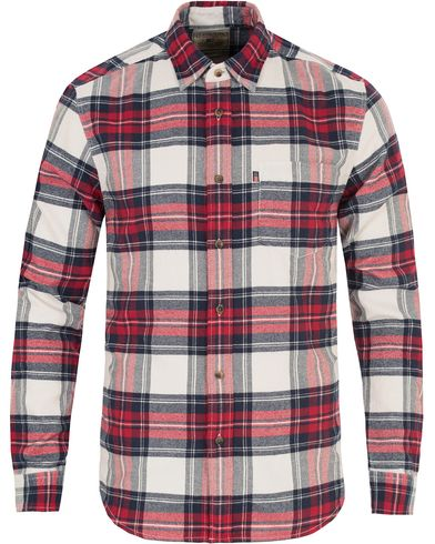 Lexington Tommy Flannel Shirt Red Multi Check i gruppen Skjorter / Flanellskjorter hos Care of Carl (13157111r)