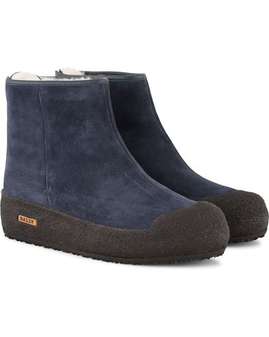 Bally Guard II Curling Lady Boot Dark Navy i gruppen Skor / K�ngor / Curlingk�ngor hos Care of Carl (13158311r)