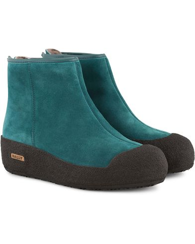 Bally Guard II Curling Lady Boot Teal Green i gruppen Sko hos Care of Carl (13158611r)